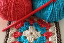 Mantinhas crochet