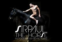 SIRPAUL™ The Horse : Official Album Art & Digital Booklet With Photography by Michael Young / by SIRPAUL™