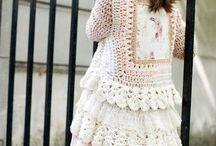 Chalecos Crochet Niños