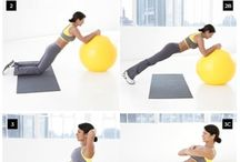 Swiss ball workouts