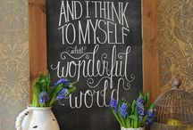 for my chalkboard / by beth dontje