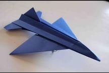 Avión de papel,que vuela bien