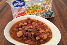 Slow Cooker Recipes with Hurst Beans / Delicious recipes featuring Hurst Beans - my favorite beans for the slow cooker!