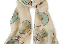 Winter, autumn, spring or summer - wear that scarf!