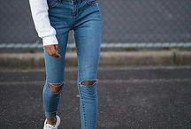 Roztrhané džínsy