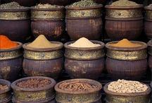 Especias / Todo sobre las especias y sus propiedades medicinales y en la cocina.