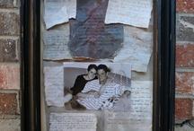Shadow box/keepsakes / by Donna Morgan-Taylor