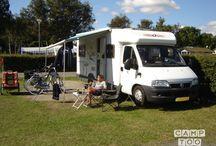 De mooiste campers / Heerlijke binnenkijken bij de mooiste campers via je via Camptoo kunt huren. Laat de voorpret beginnen!