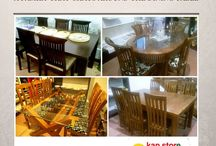 Dining Table / KAPSTORE lets you choose from the exclusive range of dining tables that will beautifully grace your space.