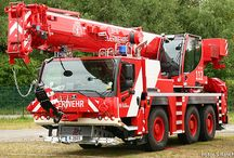 W World Fire Rescue (7)-(7) / World Fire Deprt. Heavy Mobile Cranes for Heavy Lifting Apparatus Response.