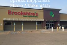 Brookshire's Share A Coke #ShareSmiles