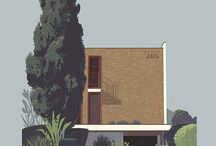 front facade building