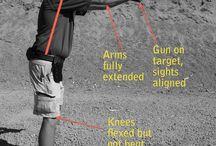 Shooting -Stance, Targets, ETc