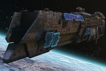 Scifi inspiration / Some inspirational scifi pictures for writing/games. Alien planets, robots, spaceships etc.