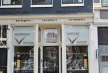 Amsterdam Vintage Watches, the store / This is our store! A vintage inspired interior helps you connect with all of our vintage watches and jewelry ;)