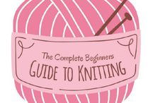 Crafty + knitting