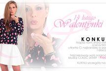 Konkursy - Promocje / Internetowe konkursy na Facebooku  i promocje w sklepach internetowych z odzieżą damską