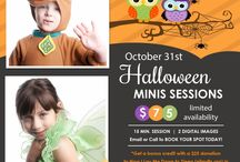 Halloween Mini Sessions / Halloween mini sessions for moms, babies, and all your little trick-or-treaters.