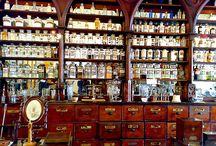 The apotecary, vintage pharmacies