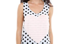 Polka-love ♥ / Always is a good time to use polka dots.