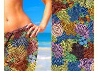Aboriginal design Sarongs / Aboriginal design Sarongs