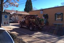Cayon Road, Santa Fe / The art scene and unique happenings on Canyon Road in Santa Fe, New Mexico. #NMtrue
