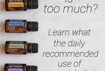 essential Oils daily use.