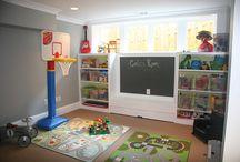 Playroom ideas / by Brittany Chimner