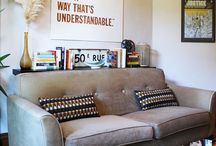 { Favorite Places & Spaces } / cozy reading spaces and beautiful interiors