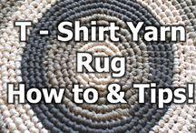 t shirt yarn rugs