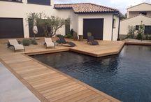 Terrasse piscine / Terrasse bois