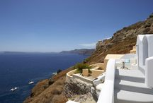 Villa Sentiment #Santorini #Greece #Island / Villa Sentiment Amaya is located right at the entrance of one of the world's heritage sites: Oia. It provides a romantic hideaway as it offers absolute privacy and serenity in Santorini, the most dramatic and breathtaking of all the Greek islands. http://www.mygreek-villa.com/rent-villa-search/villa-sentiment