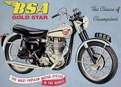 Motoren/ Motor Cycles / Prachtige metalen borden met motoren afbeeldingen van verschillende merken