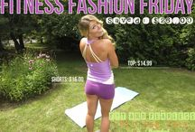 Fitness Fashion Friday @ StephHendel.com / Each week I'll show you where to find the best deals and steals on cute workout gear so you can look and feel confident when you hit the gym floor! More on the way at www.StephHendel.com