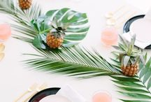 - TROPICAL BRIDAL SHOWER - / Paradise is more than just a place you'll go on your honeymoon! Treat your babes right and gather all the wedding goodies you need for a smooth-sailing tropical bridal shower party!