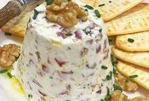 pastelitos de crema de queso