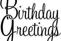 cards birthday / by Cheryl Mayo