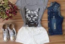 blusinha de gatinho