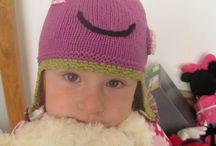 Jam Organic / Hand Knitted Hats for children