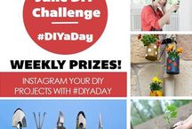 DIY-a-Day / Learn how to complete a DIY project around the house in one day or less.