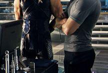 Captain America/ Steve Rodgers/Chris Evans