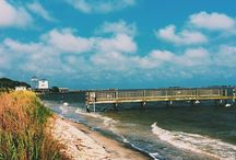 Southport/Oak Island, NC / Fun things to do in coastal Brunswick County, NC. Charming seaside towns.