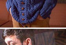 men knitting patterne