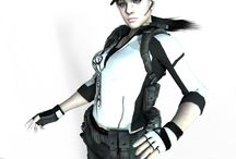 Jill BSAA Black&White Suit / Автор: я (MrS_Sparda) Размер: 21,2 МБ