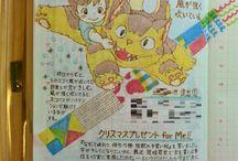 kawaii art notebook
