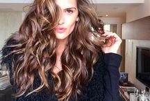 → hair
