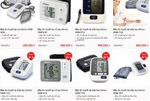 Máy đo huyết áp bắp tay và cổ tay / máy đo huyết áp cổ tay và máy đo huyết áp bắp tay, có giá bán giao động tại thị trường Việt Nam từ 500,000đ đến 2 – 3 triệu đồng/máy dòng dành cho gia đình