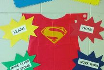 Hero Theme for School / by Maria Robles