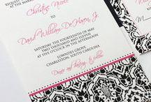 Black Tie Wedding / inspiration for a black tie wedding