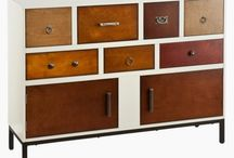 Patchwork dresser & cabinets